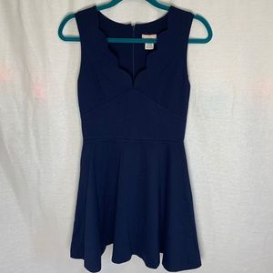 Adorable fit and flare dress-worn once